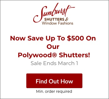 Sale on Tampa Polywood Shutters